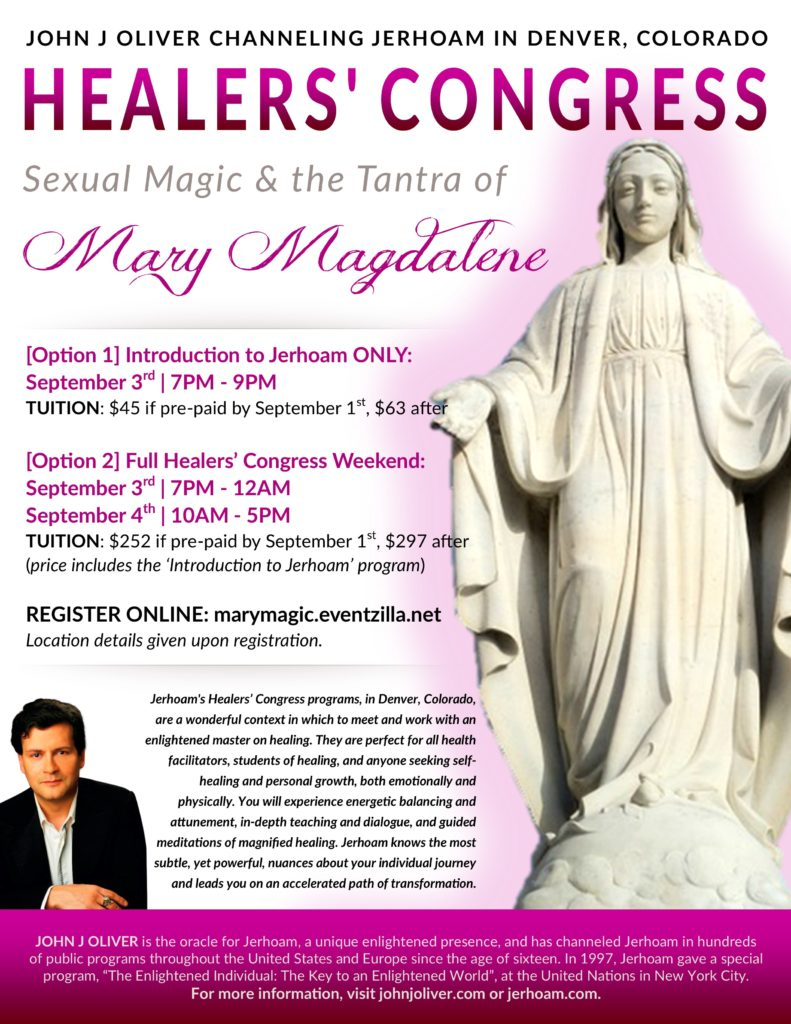 SEPT 2016 Healers Congress - Mother Mary