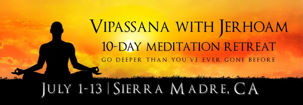 Vipassana 13 Day Retreat with John J Oliver | Sierra Madre, CA